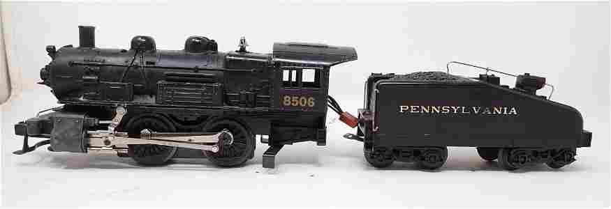 8506 Steam Locomotive & Pennsylvania Tender