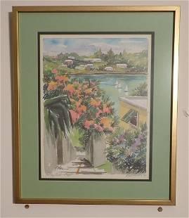John Forbes Signed Bermuda Print