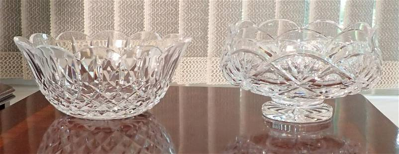 2 Crystal Bowls Waterford ?