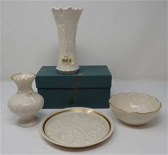 Lenox Vase Bowl & Plate