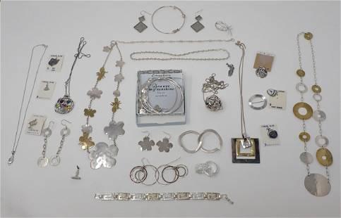 Sterling Silver Bracelets Earrings Necklaces & Misc