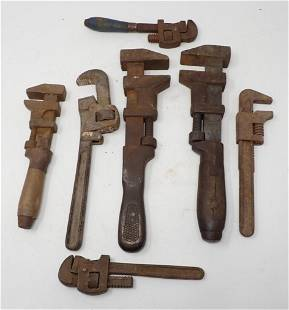 Antique / Vintage Pipe Wrenches