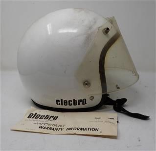 Vintage Electro Motorcycle Helmet