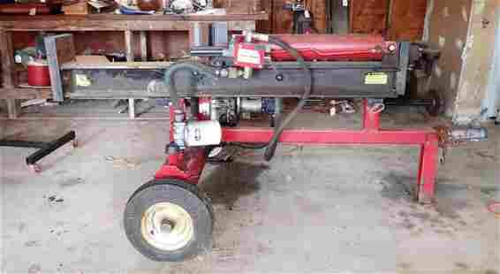 Log Splitter w/ Briggs & Stratton 8hp Engine