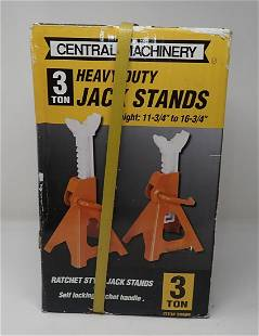 Central Machinery 3 ton Jack Stands