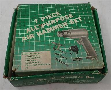 7 Piece Air Hammer Set