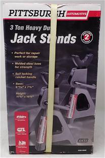 Pittsburgh 3ton HD Jack Stands