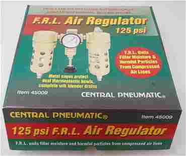 Central Pneumatic FRL Air Regulator