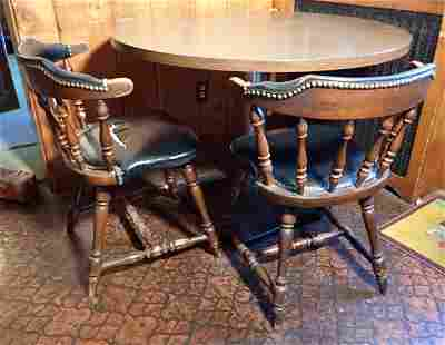 Vintage Kitchen Table & 3 Chairs