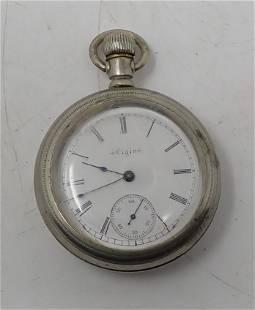 Antique Elgin Lever Set Pocket Watch
