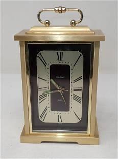 Bulova Brass Clock