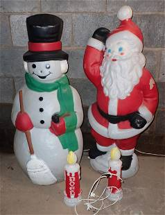 Christmas Blowmold Decorations