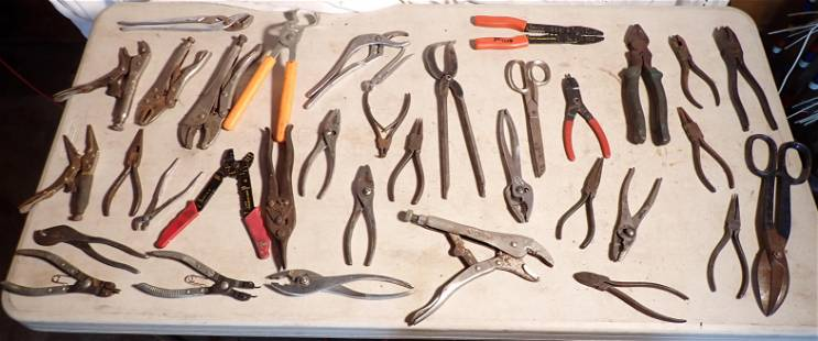 Vise Grips Pliers Misc Tools Boker Klein