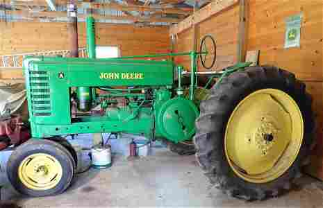 Antique John Deere Model A Tractor