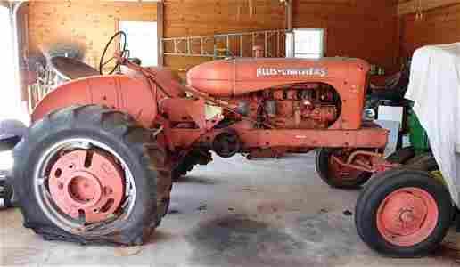 Allis Chalmers WD45 Antique Tractor
