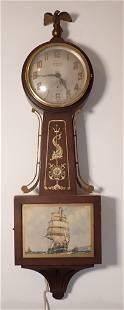 Ingraham Synchronus Banjo Clock