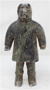 Stone Carved Inuit Sculpture