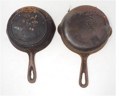 Griswold & Martin Cast Iron Skillets