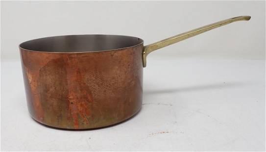 Paul Revere Copper Pot w/ Brass Handle
