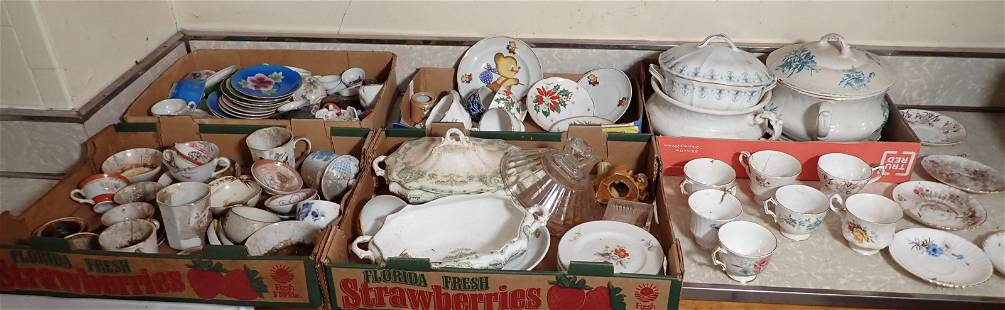 Cups Saucers Misc Porcelain & China