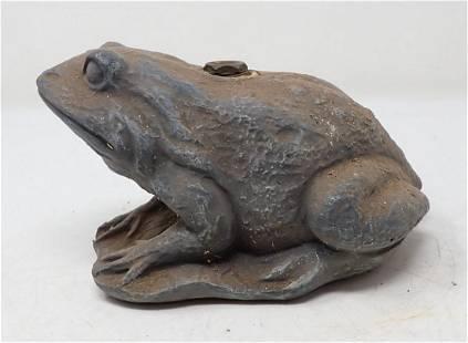 Vintage Frog Lawn Sprinker