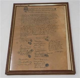 North American Indian Declaration