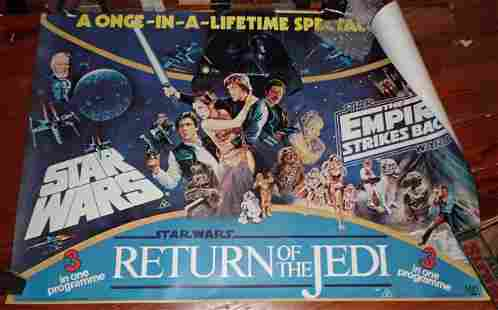1980's Star Wars Posters