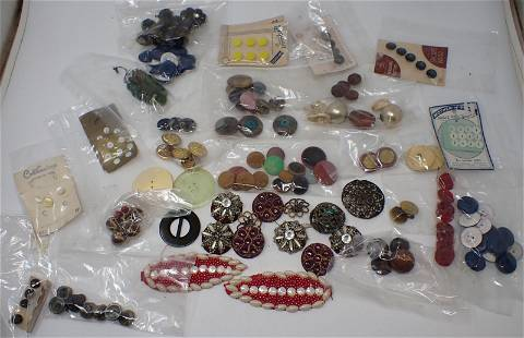 Buttons Buckle & Misc