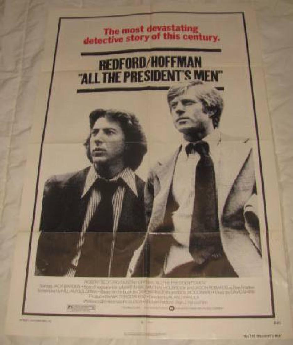 1976 Redford Hoffman Poster
