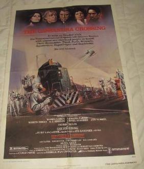 1973 Cassandra Crossing Movie Poster
