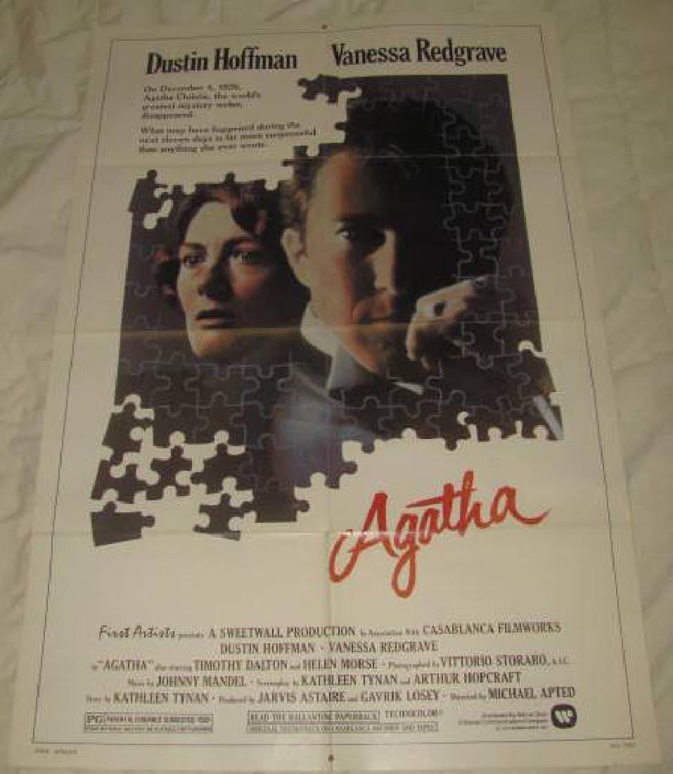 Agatha Dustin Hoffman Vanessa Redgrave