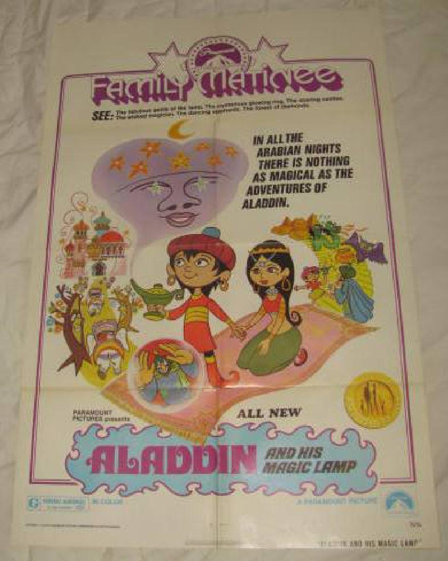 Aladdin and His Magic Lamp Poster Family Matinee
