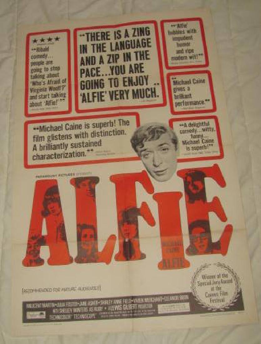 ALFIE MICHAEL CAINE MOVIE POSTER