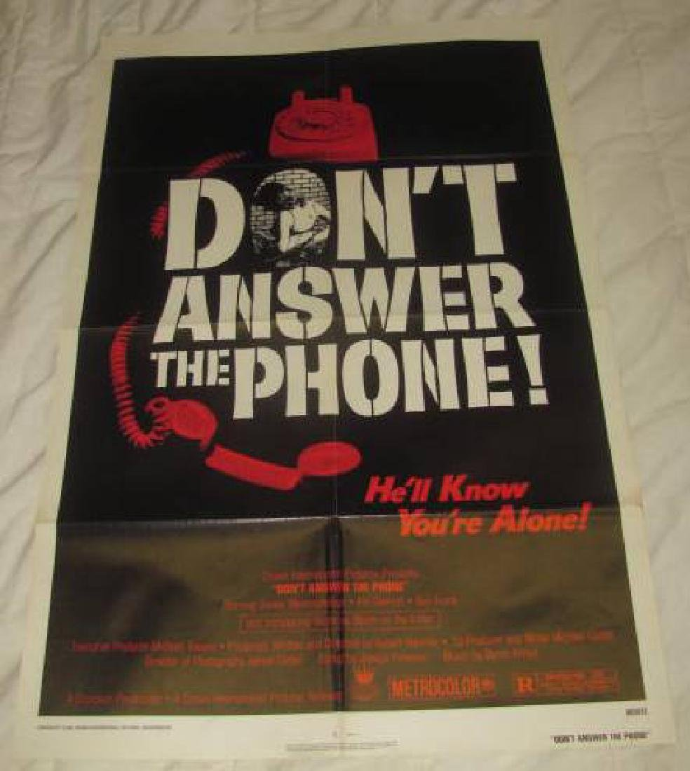 DON'T ANSWER THE PHONE MOVIE POSTER