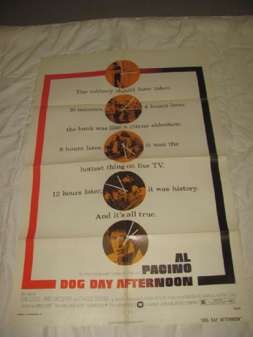 DOG DAY AFTERNOON AL PACINO MOVIE POSTER