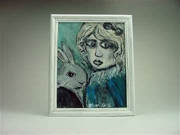 "Miriam Gomberg (1967-) ""The Hare & Goth"" Reno Nevada"