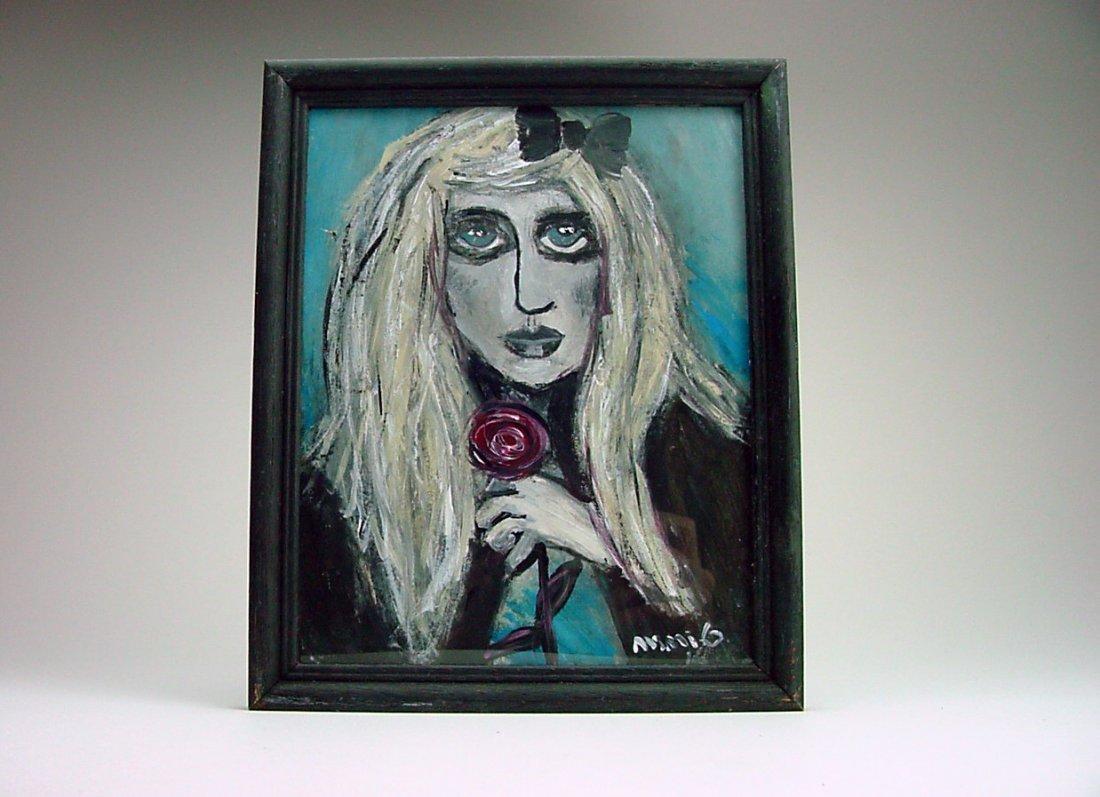 "Miriam Gomberg (1967-) ""Rosey da Goth"" Reno Nevada"
