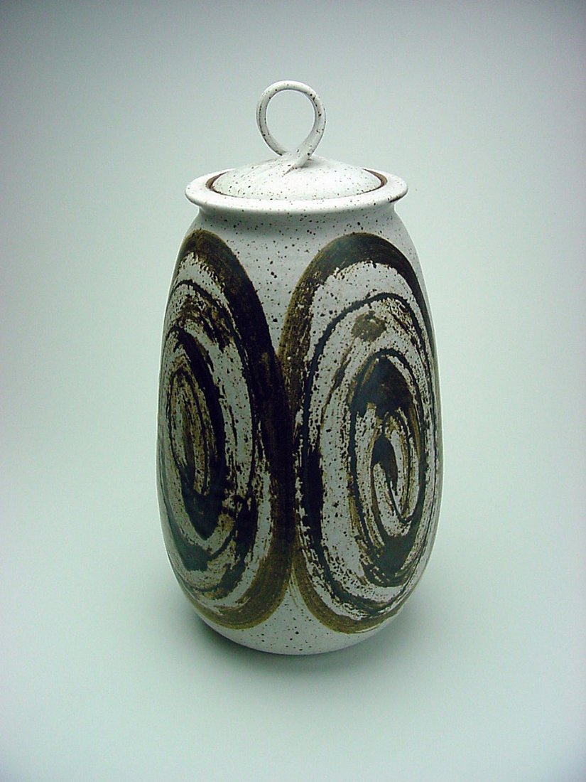 James Morris Cotter (1940-) Jar Yuba City California