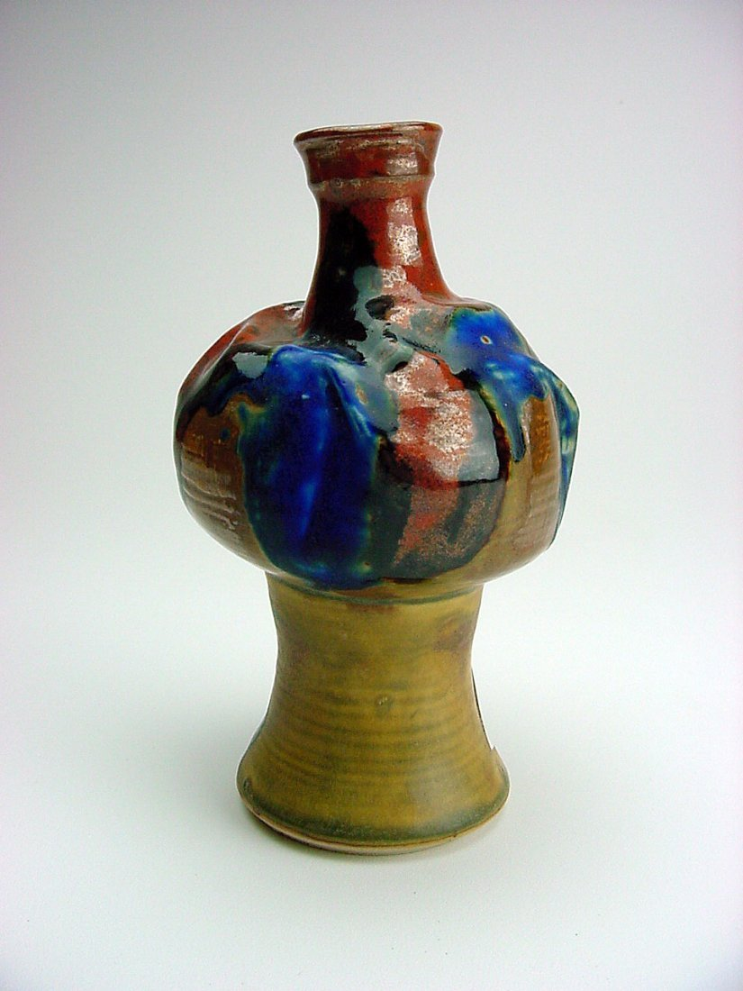 John C. Karrasch (1934-2010) Vase Gold Hill Nevada