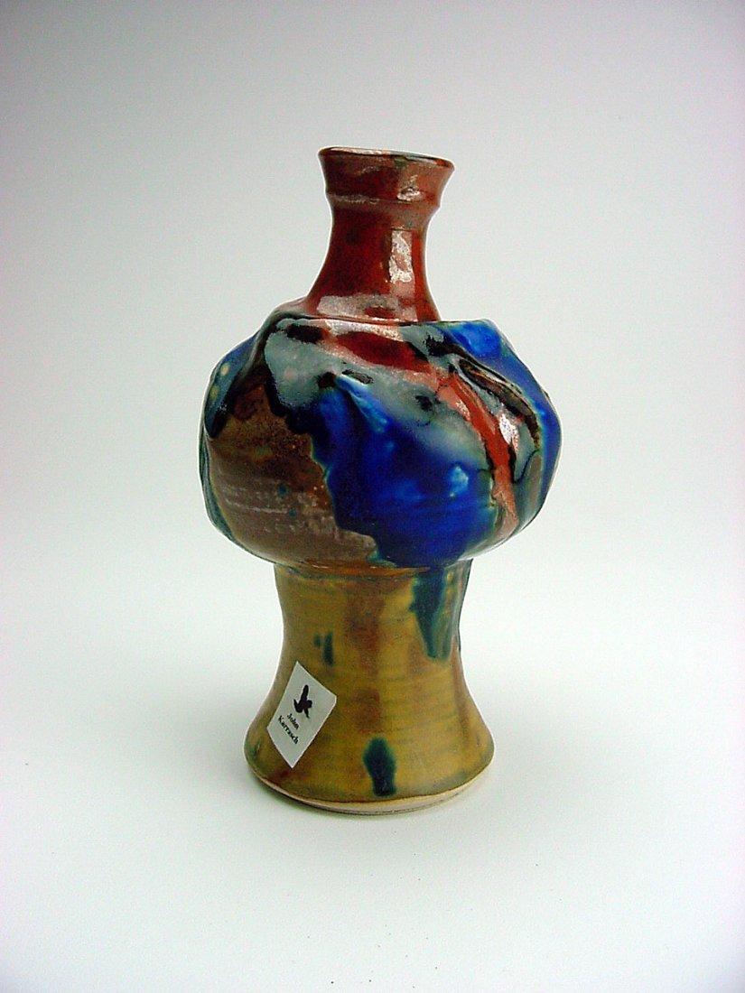 John C. Karrasch (1934-2010) Vase Gold Hill Nevada - 2