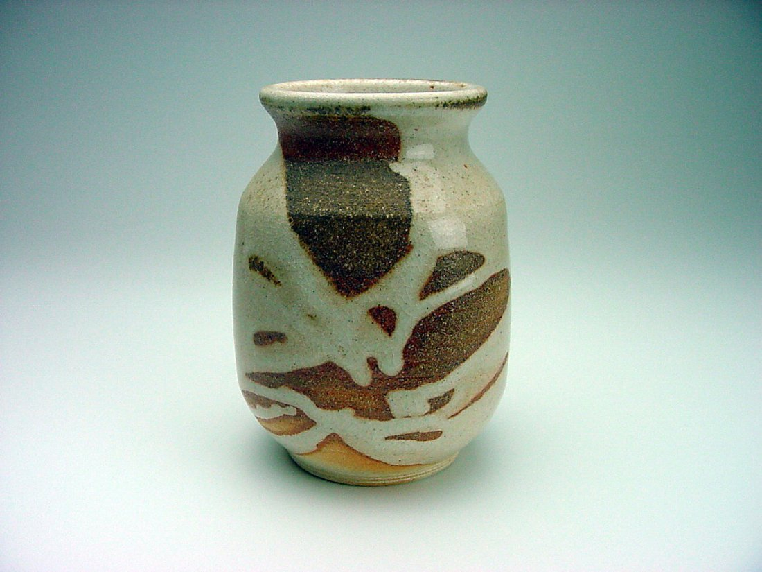 Paul Herman (1954-) Altered Vase Form Doyle California