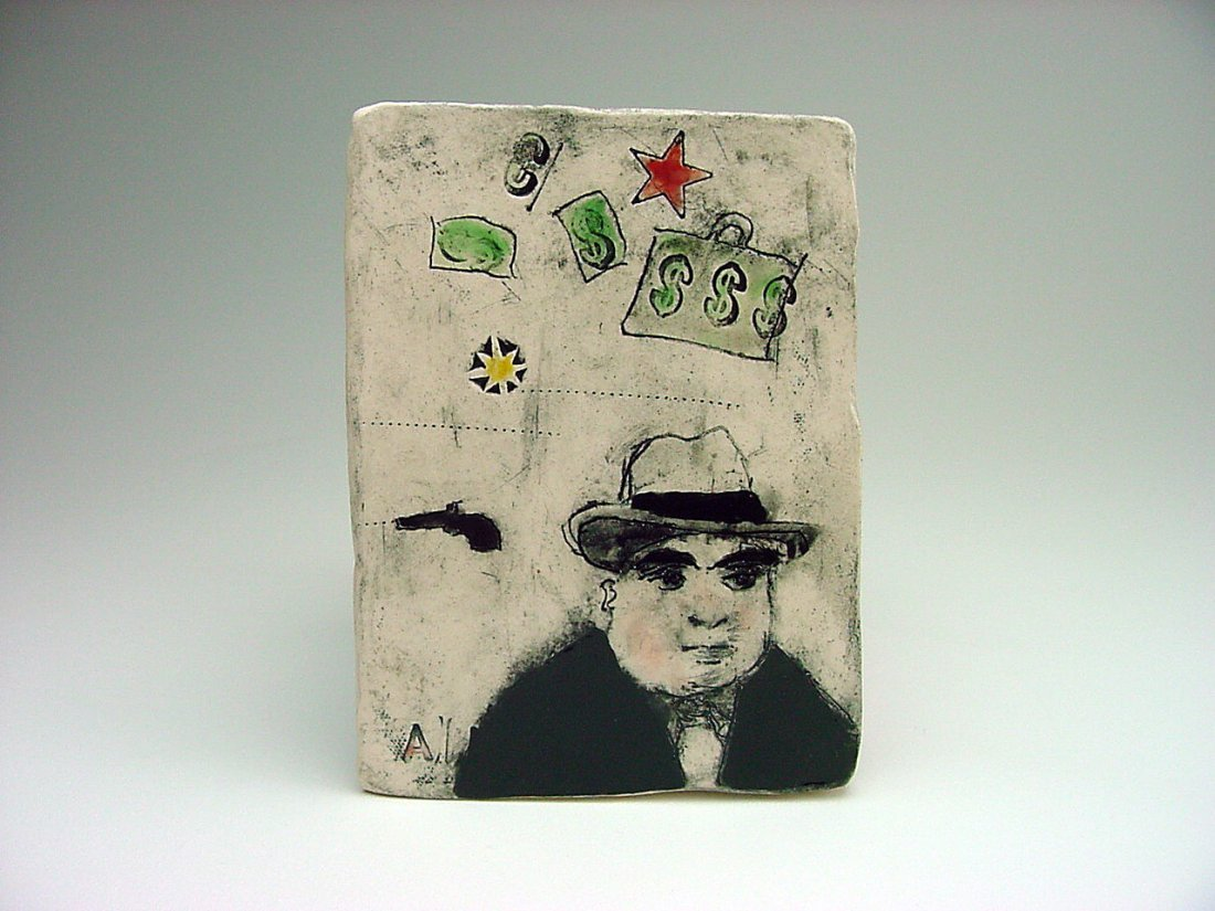 Dayna Galletti Al Capone Art Tile Nevada