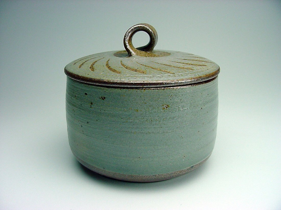 Paul Herman (1954-) Lidded Form Doyle California