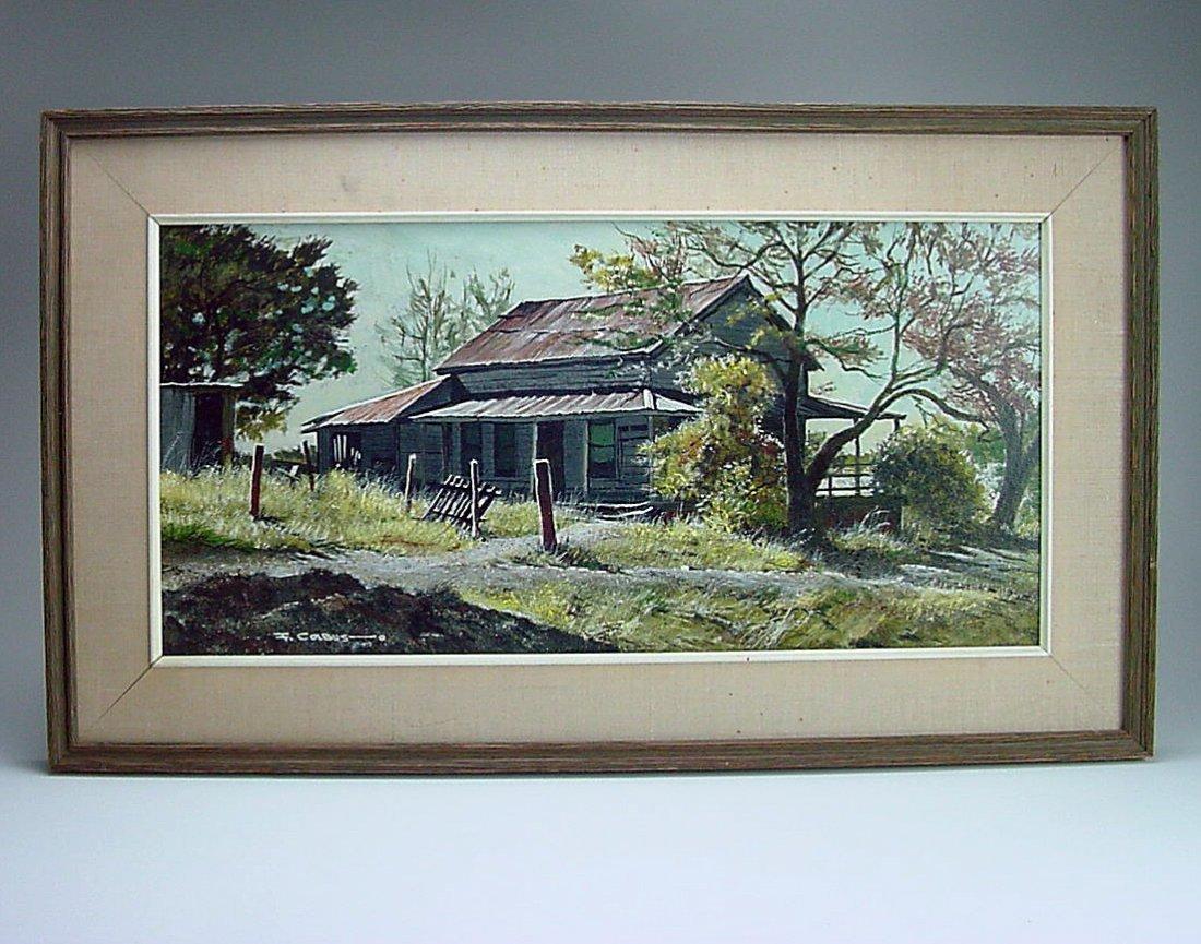 1977 Frederick Colbus (1917-1986) California Painting