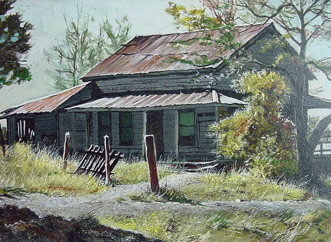 1977 Frederick Colbus (1917-1986) California Painting - 3