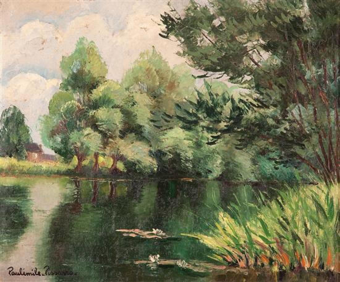 **Paul-Emile Pissarro 1884-1972 (French) Etang de Cervy