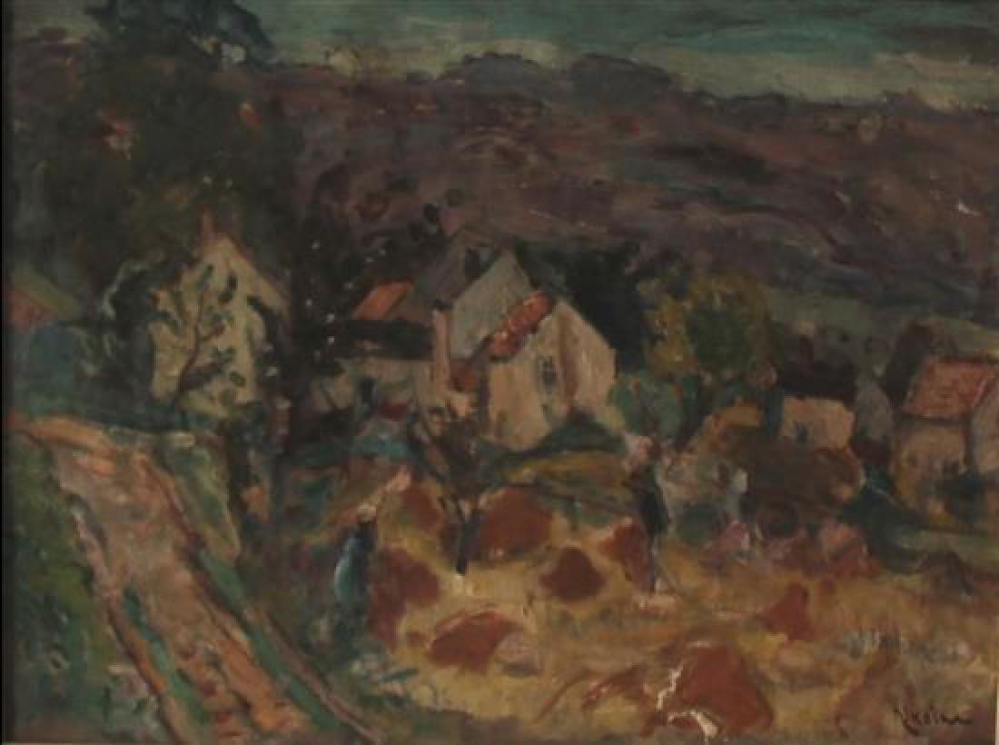 **Michel Kikoine 1892-1968 (Belarusian, French) Working