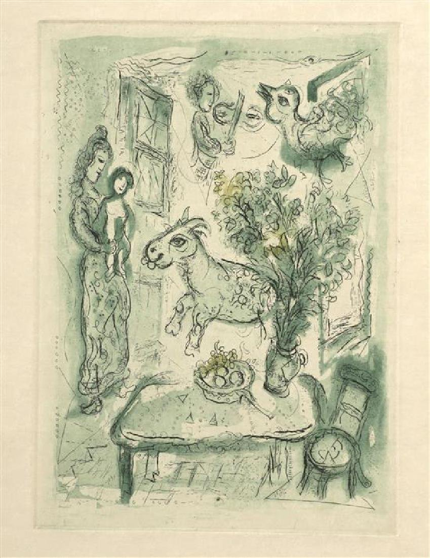 **Marc Chagall 1887-1985 (Russian, French) Mere et