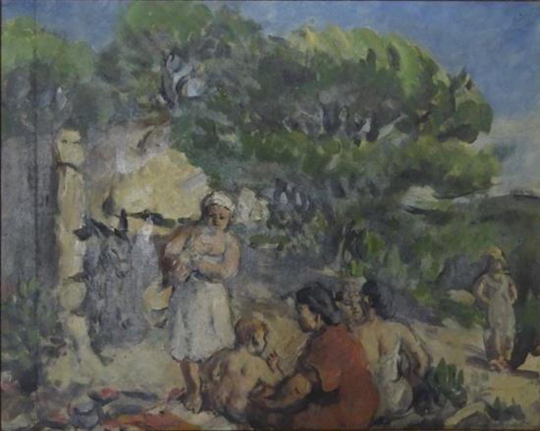 **Richard Maguet 1896-1940 (French) Landscape oil on