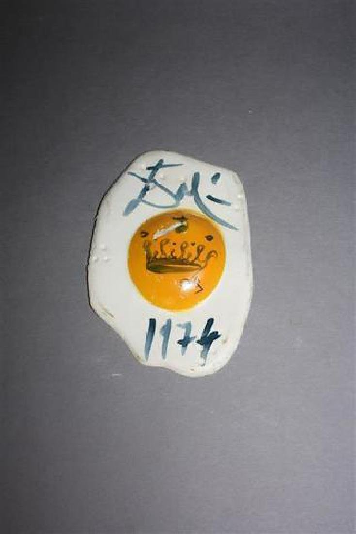 **Salvador Dali 1904-1989 (Spanish) Egg with crown,